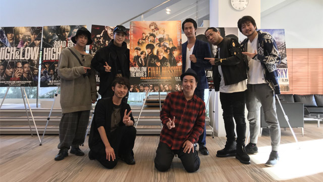 「HiGH & LOW THE MOVIE3 FINAL MISSION」制作メンバー